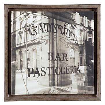 """In The Window - 16""""x16"""" - framed - Z Gallerie"""