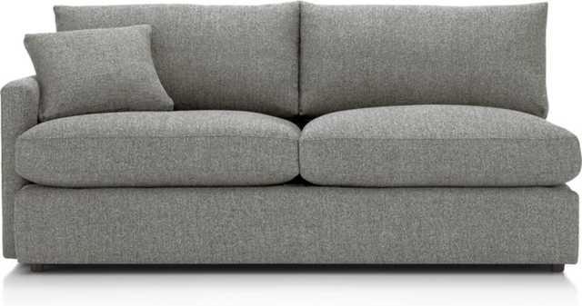 Lounge II Petite Left Arm Sofa - Crate and Barrel