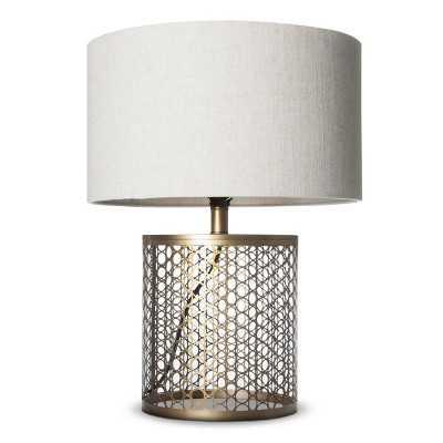 Open Metal Circle Pattern Table Lamp - Target