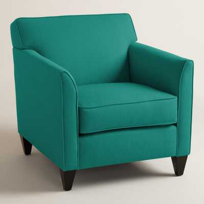 Textured Woven Stellan Upholstered Chair - World Market/Cost Plus