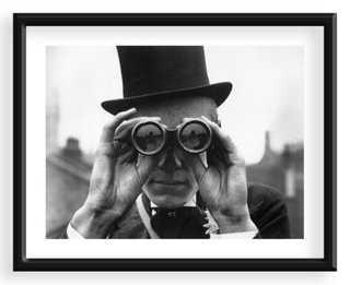 """Derby Spectator, Epsom, Surrey- 24"""" x19""""- Framed - One Kings Lane"""
