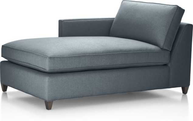 Dryden Left Arm Chaise Lounge - Crate and Barrel