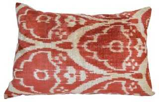Ferah 16x24 Silk-Blended Pillow, Multi - One Kings Lane