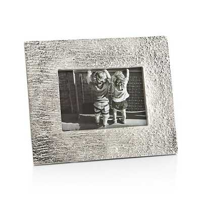 Silver Bark 4x6 Picture Frame - Crate and Barrel