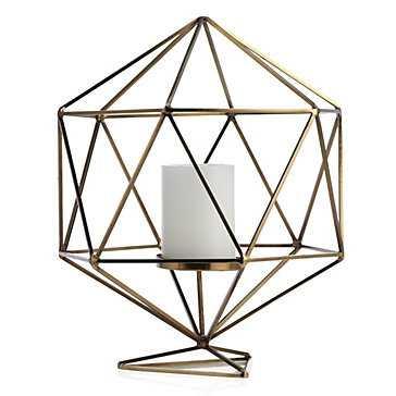 Hexadome Pillar Holder - Z Gallerie