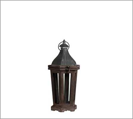 Park Hill Lantern - Small - Pottery Barn