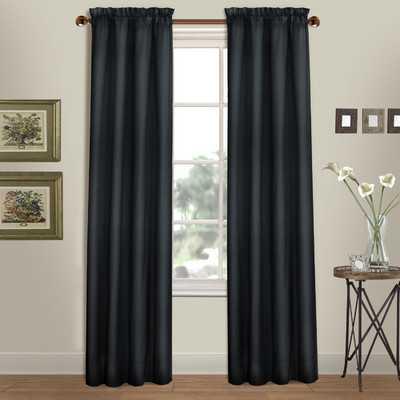 "Westwood Rod Pocket Curtain Panels-Navy-84"" - Wayfair"