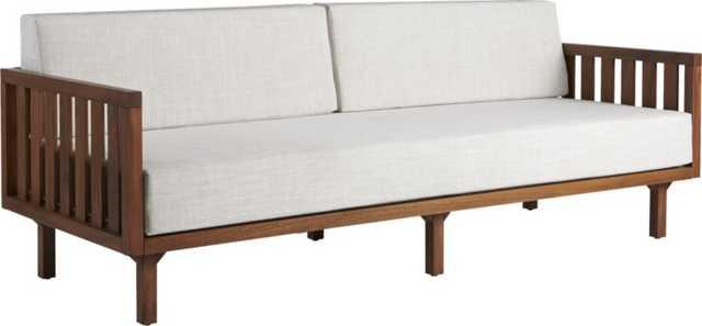Tropez natural sofa - CB2