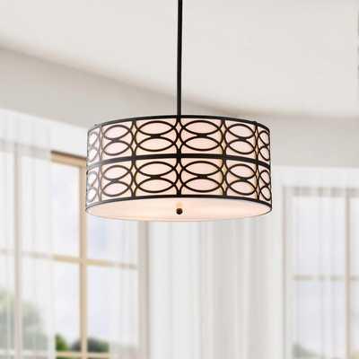 Indoor 3-light Black Pendant Chandelier - Overstock