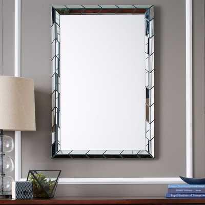 Chevron Tile Wall Mirror - West Elm