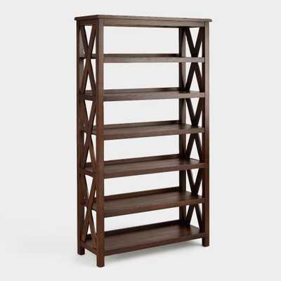 Verona Six-Shelf Bookshelf - World Market/Cost Plus