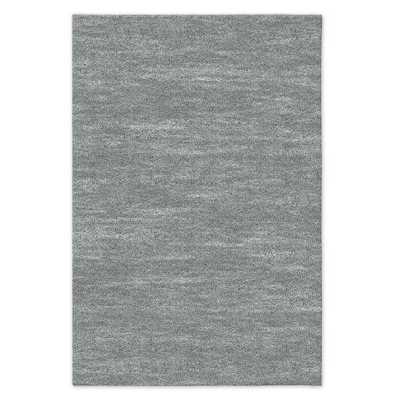 Watercolor Solid Rug - 2x3 - Blue Sage - West Elm
