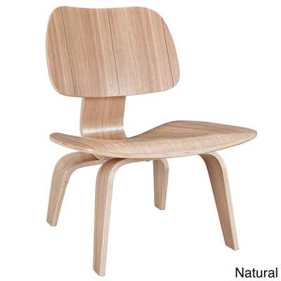 Molded Natural Plywood Lounge Chair - Overstock