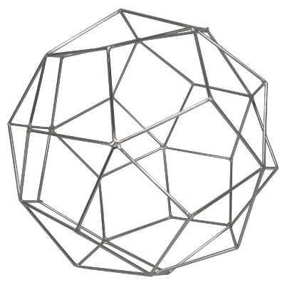 "Thresholdâ""¢ Metal Wire Decorative Figurine Extra Large Silver - Target"