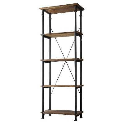 Ronay Rustic Industrial Bookshelf - Target