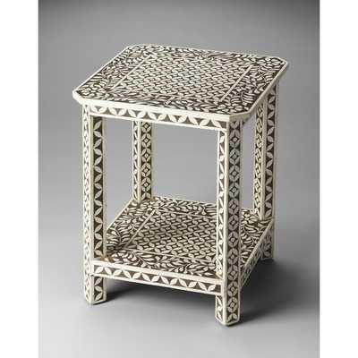 Bone Inlay End Table - AllModern