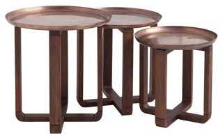 Joanie Nesting Tables, Set of 3 - One Kings Lane