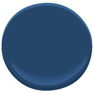 Benjamin Moore Downpour Blue Paint - Benjamin Moore