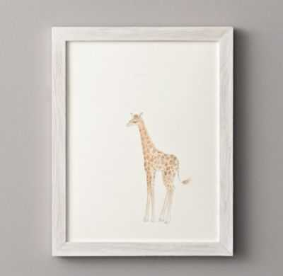 Watercolor animal illustrations - Giraffe - RH Baby & Child