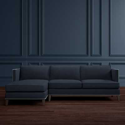 Hyde 2-Piece Chaise Sectional, Left (Includes Chaise, Left Arm and Loveseat, Right Arm) - Williams Sonoma