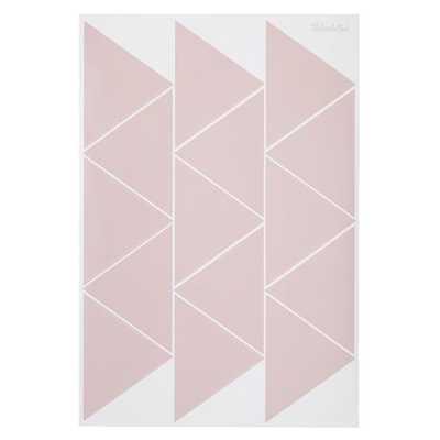 Pink Basic Trig Decals - Land of Nod