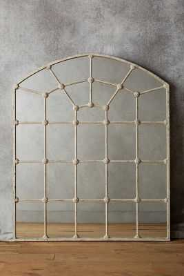 Paneled Epoque Mirror - Extra small - White - Anthropologie