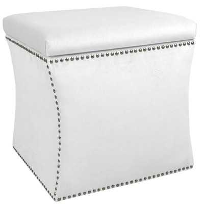 Premier Nail Button Storage Ottoman - Wayfair