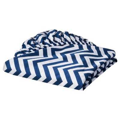 Circo® 100% Cotton Woven Chevron Fitted Baby Crib Sheet - Target