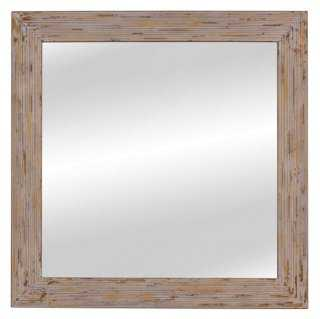 Quincy Wall Mirror, Natural - One Kings Lane