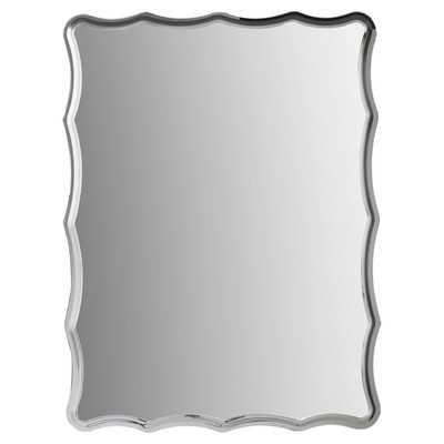 Redcliffe Frameless Wall Mirror - Wayfair