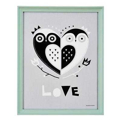 Owl Always Love You Wall Art - 15.5x19.5 - Framed - Land of Nod