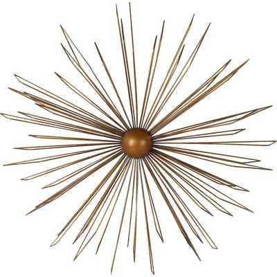 Decorative Contemporary Modern Starburst Iron Widget Wall Decor - AllModern