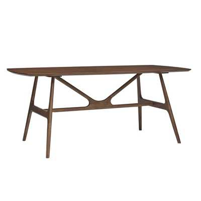 Travis Dining Table - Walnut - Overstock