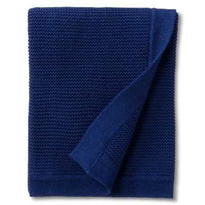 "Circoâ""¢ Chunky Knit Baby Blanket - Navy - Target"
