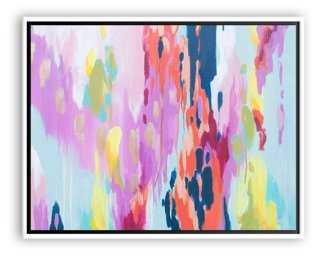 """Kristy Gammill, Springtime - 40"""" x 31"""" - Framed (white) - One Kings Lane"""