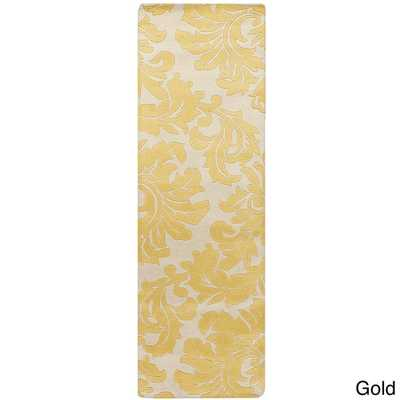 Hand-tufted Paisley Floral Runner Area Rug - Overstock
