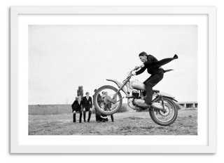 "Eton School Bikers, 1966- 24"" x 17""- Framed - One Kings Lane"
