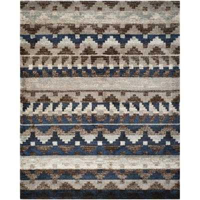 Safavieh Tahoe Beige/ Grey Rug (8' x 10') - Overstock