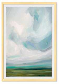 "Emily Jeffords, Pastures & Spaces - 29""W x 40""H- Framed - One Kings Lane"