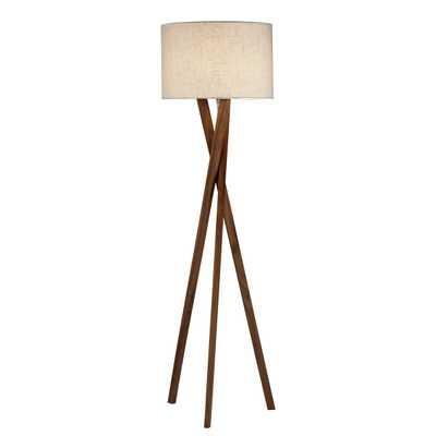 Adesso Brooklyn Floor Lamp - Hayneedle