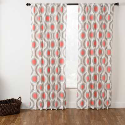 "Marlowe Curtain Panel - 50""W x 95""L - Overstock"