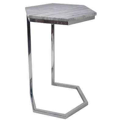 "Thresholdâ""¢ Hexagonal Marble Top Accent Table - Target"