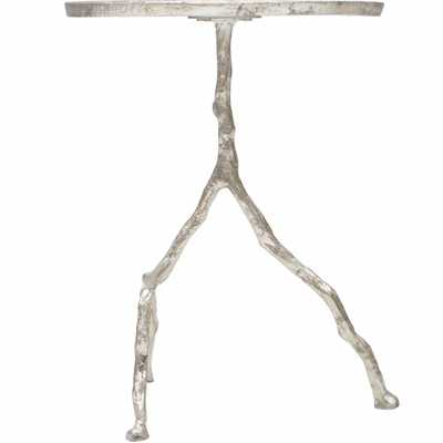 Forest Park Silver Iron Table - High Fashion Home