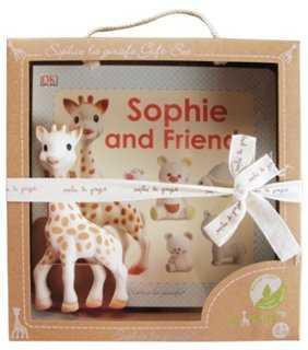 Sophie la Girafe Squeaker & Book Set - One Kings Lane