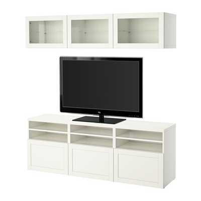 BESTÃ… TV storage combination - Ikea