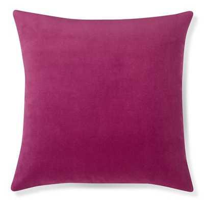 """Velvet Pillow Cover, 22"""" X 22"""", No Insert - Williams Sonoma Home"""