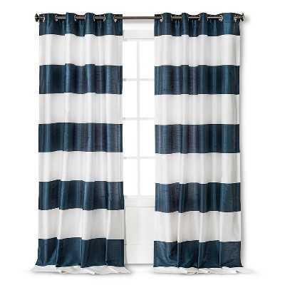 "Bold Stripe Curtain Panel - 95"" - Target"
