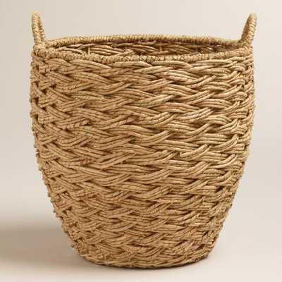 Seagrass Cora Tote Basket - World Market/Cost Plus