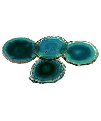 Pedra Coasters - Teal - Bliss Home and Design
