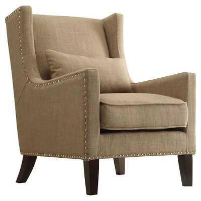 Inspire Q Murray Wingback Arm Chair - Tan - Target